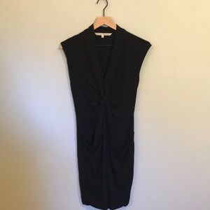RACHEL by Rachel Roy Black Knot Dress size S